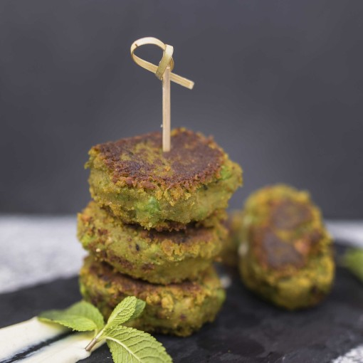Feel Good Falafel mit Chia und Curry-Dip