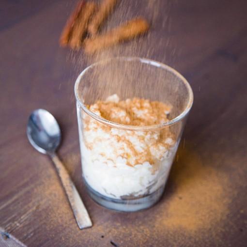 Milchreis mit Zimt-Zucker