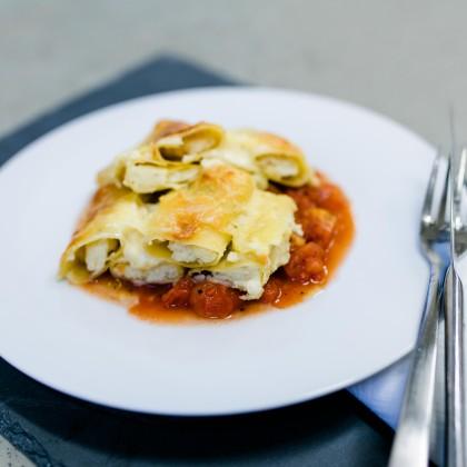 Cannelloni mit Sugo