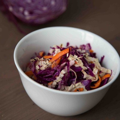 Chinakohl-Kraut Salat