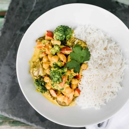 Curry mit Bio-Rindfleisch