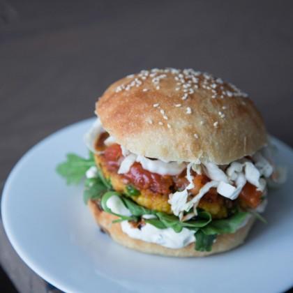Hirse-Gemüse Burger