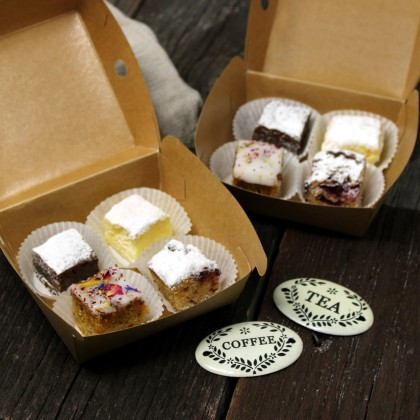 Kuchenwürfel-Box
