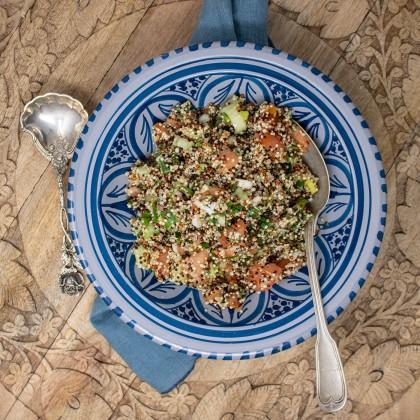 Quinoa-Taboule mit frischer Minze