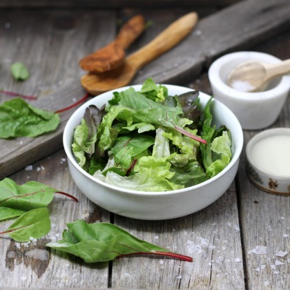 Gemischte Blattsalate