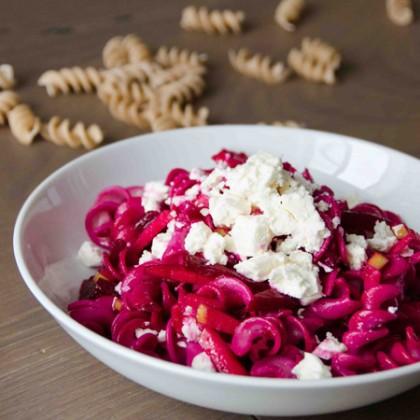Rote Rüben Salat mit Feta