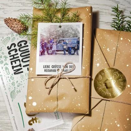Weihnachtliches Gutschein-Paket