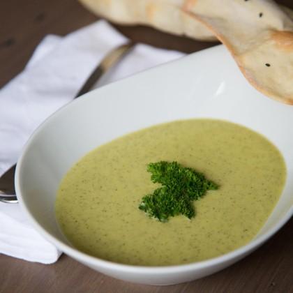 Zucchinicreme-Suppe