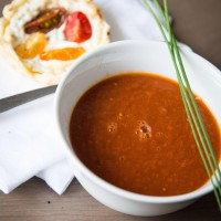 Fruchtige Tomatencreme Suppe