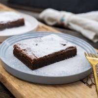 Schoko-Brownie (ohne Mehl)